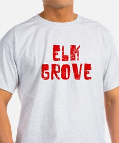 Elk Grove Faded (Red) T-Shirt