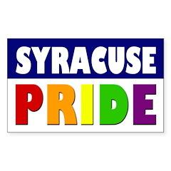 Syracuse Pride (bumper sticker)