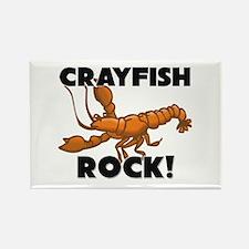 Crayfish Rock! Rectangle Magnet