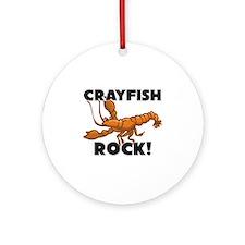 Crayfish Rock! Ornament (Round)