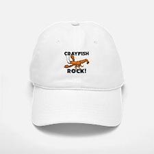Crayfish Rock! Baseball Baseball Cap