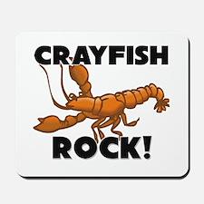 Crayfish Rock! Mousepad