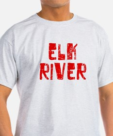 Elk River Faded (Red) T-Shirt