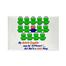 Different FROGS 1 (Daughter) Rectangle Magnet