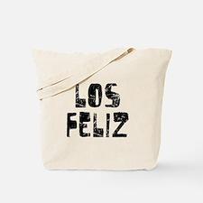 Los Feliz Faded (Black) Tote Bag