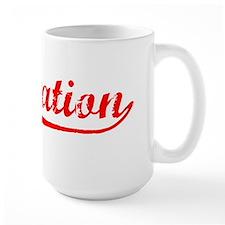 Vintage Plantation (Red) Mug