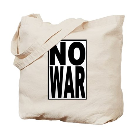 NO WAR Tote Bag