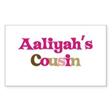 Aaliyah's Cousin Rectangle Decal