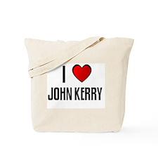 I LOVE JOHN KERRY Tote Bag