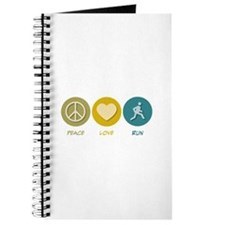 Peace Love Run Journal