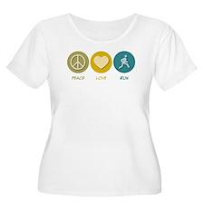 Peace Love Run T-Shirt