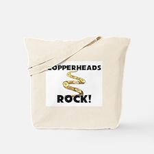 Copperheads Rock! Tote Bag