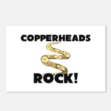 Copperheads Rock! Postcards (Package of 8)