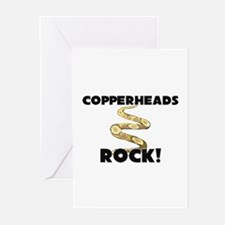 Copperheads Rock! Greeting Cards (Pk of 10)