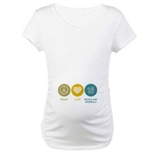 Peace Love Rocks and Minerals Shirt