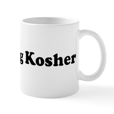 I Love Being Kosher Mug