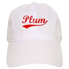 Vintage Plum (Red) Baseball Cap