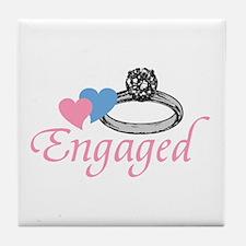 Engaged Tile Coaster