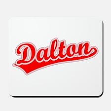 Retro Dalton (Red) Mousepad