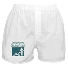 """International Marriage Symbol"" Boxer Shorts"