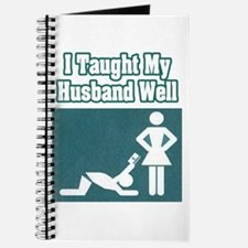 """I Taught My Husband Well"" Journal"