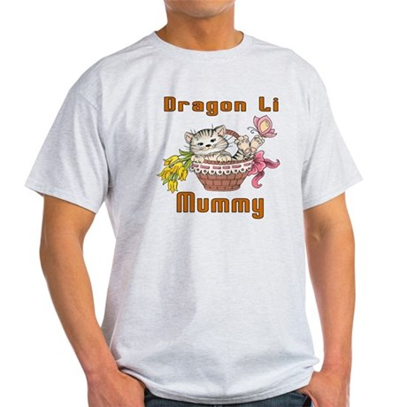 Dragon Li Cat Designs Light T-Shirt