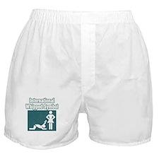 """""""International Whipped Symbol"""" Boxer Shorts"""