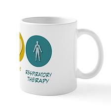 Peace Love Respiratory Therapy Mug