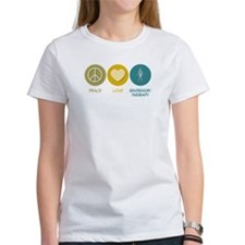 Peace Love Respiratory Therapy Tee