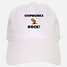 Chipmunks Rock! Baseball Baseball Cap