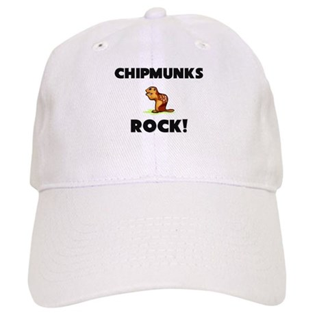 Chipmunks Rock! Cap