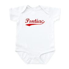 Vintage Pontiac (Red) Infant Bodysuit