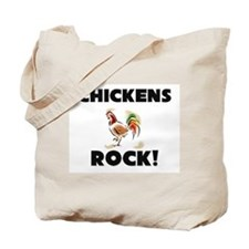 Chickens Rock! Tote Bag