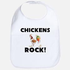 Chickens Rock! Bib