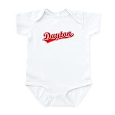 Retro Dayton (Red) Infant Bodysuit