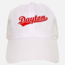 Retro Dayton (Red) Baseball Baseball Cap