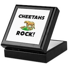 Cheetahs Rock! Keepsake Box