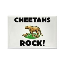 Cheetahs Rock! Rectangle Magnet
