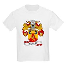 Campos Family Crest Kids T-Shirt