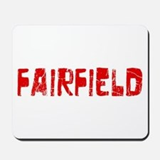 Fairfield Faded (Red) Mousepad