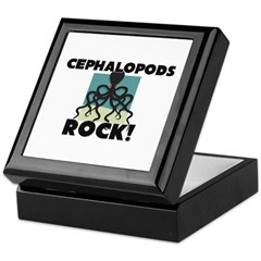 Cephalopods Rock! Keepsake Box