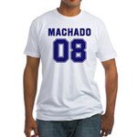 Machado 08 Fitted T-Shirt