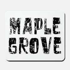 Maple Grove Faded (Black) Mousepad