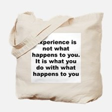 Funny Huxley quotation Tote Bag
