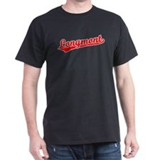 Retro Longmont (Red) T-Shirt