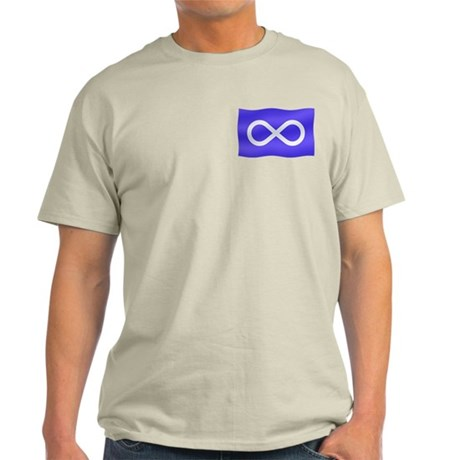 Metis Nation Light T-Shirt Canada Metis T-shirt