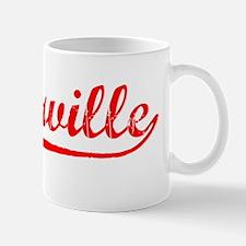 Vintage Porterville (Red) Mug