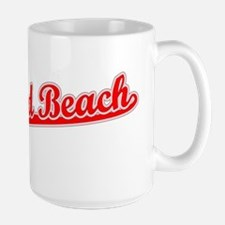 Retro Deerfield Be.. (Red) Mug
