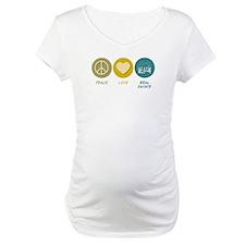 Peace Love Real Estate Shirt