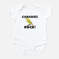 Canaries Rock! Infant Bodysuit